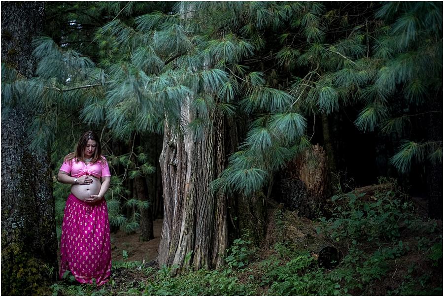 Desierto de los Leones Sesion de Embarazo Aitana_0005