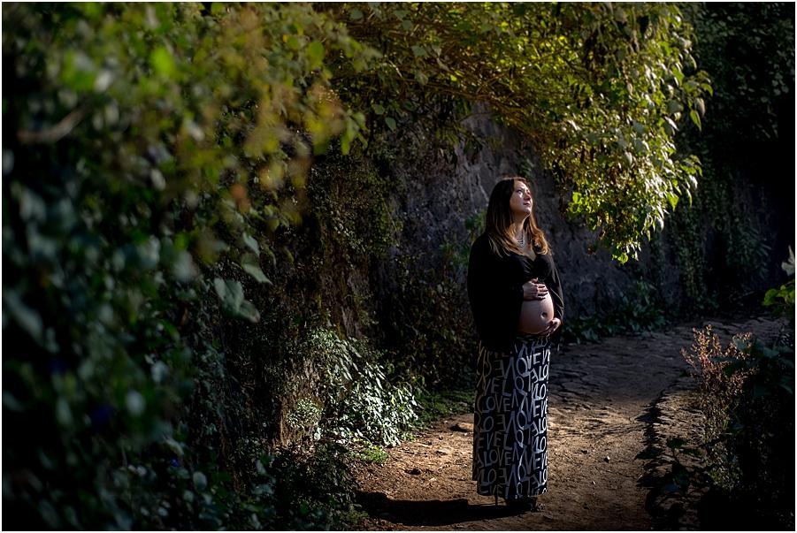 Desierto de los Leones Sesion de Embarazo Aitana_0016
