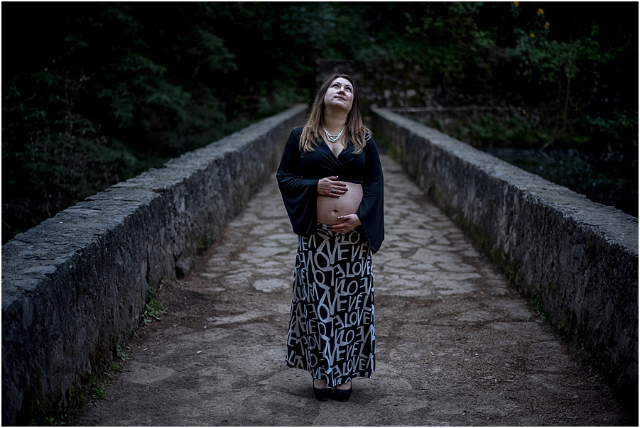 Desierto de los Leones Sesion de Embarazo Aitana_0024