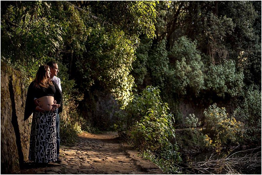 Desierto de los Leones Sesion de Embarazo Aitana_0014