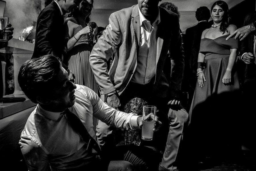 bailando en la fiesta de mi boda