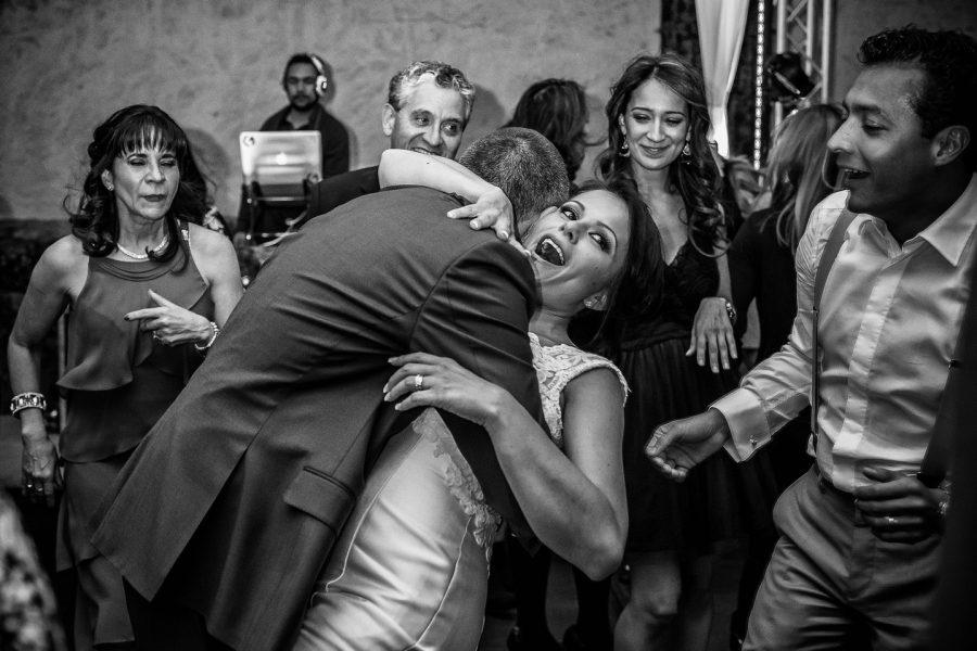 disfrutando en el baile de mi boda
